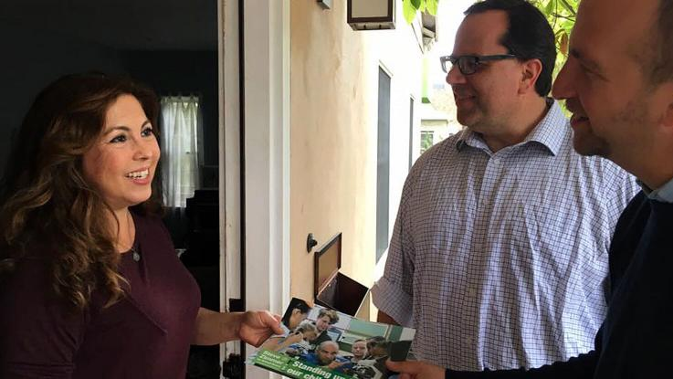 Alex Capito-Pearl & Steve Zimmer Canvassing